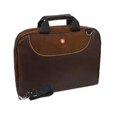 کیف اداری طرح چرم P9 با ضربه گیر لپ تاپ 15.6 اینچی