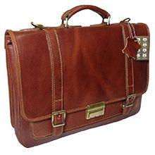 کیف چرم مردانه طبیعی دست دوز کد CH106 ارس چرم