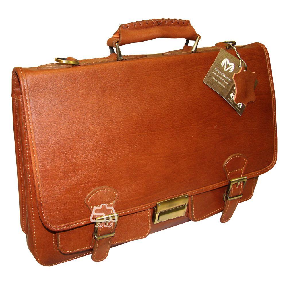 کیف لپ تاپ چرم دست دوز