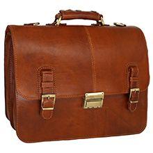 کیف چرمی طبیعی مدل CH116