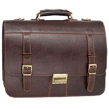 کیف چرم دست دوز طبیعی مدل CH124