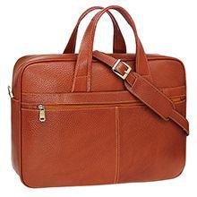 کیف اداری چرم طبیعی دست دوز مدل CT2