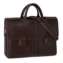 کیف اداری چرم طبیعی مردانه مدل CK1