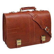 کیف چرمی اداری مردانه دستدوز کد 2726F سفارشی