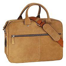کیف اداری چرم طبیعی shifer مدل 2630 با محافظ لپ تاپ