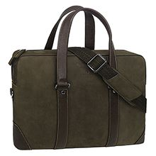 کیف اداری چرم طبیعی شیفر مدل 2631 با محافظ لپ تاپ