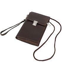 کیف پول گردنی چرم طبیعی مدل CA110 دستدوز