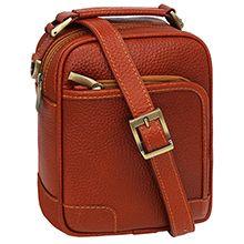 کیف دوشی مردانه چرمی کد CA32