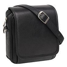 کیف دوشی مردانه چرم طبیعی مدل CA30