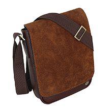 کیف دوشی چرمی دست دوز مدل CGE12