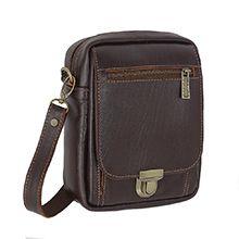 کیف چرمی رودوشی مردانه مدل 1368 دست دوز