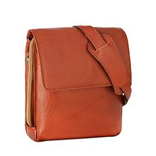 کیف رو دوشی چرم مردانه اسپرت مدل CA80