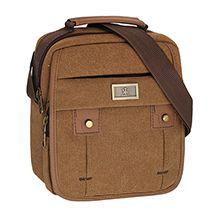کیف دوشی مردانه مازراتی کتان سایز Large کد 2403