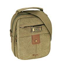 کیف دوشی مردانه ROMA کتان کد 2402 سایز متوسط