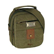 کیف دوشی مردانه ROMA کتان کد 2401 سایز کوچک
