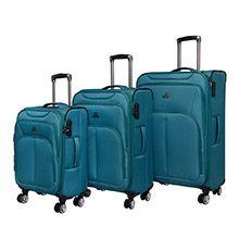 مجموعه 3 عددی چمدان BELMONTE مدل B69 برزنتی چهارچرخ تراولی
