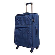 چمدان برزنتی سایز متوسط مارک MY TRAVEL مدل MTM71 چهارچرخ