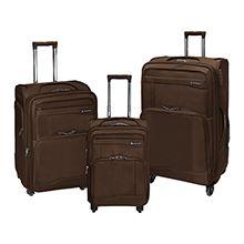 مجموعه سه عددی چمدان مسافرتی چرخدار برزنتی مارک Sanzhiniao مدل 188
