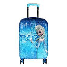 چمدان کودک دخترانه طرح frozen مدل F2283 چرخدار