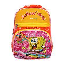 کوله مدرسه School Bag طرح باب اسفنجی کد ME4
