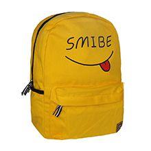 کوله مدرسه ای فانتزی طرح لبخند مدل SMY5