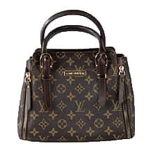 کیف دستی زنانه مجلسی چرم مصنوعی طرح لویی ویتون مدل BARENI